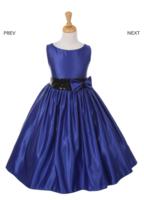 """Нарядное платье для девочки """"Монтана"""" Синее 6337 KK"""