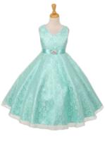 """Платье для девочки """"Хизари"""" Лайм GG-3511"""