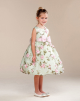 """Детское платье """"Жасмин"""" Бирюзовое BC 343"""