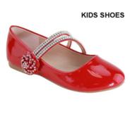 Нарядные лаковые туфли для девочки Красные AA-Shani-68K