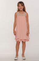 Нарядное платье для девочки Элеонора Шампань 9005