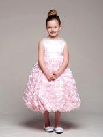 """Детское платье """"Розалия"""" Розовое CR 949"""