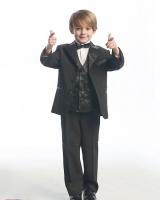 Праздничный Костюм для мальчика Черный M 110 F