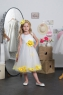 Детское платье с Желтыми Лепестками KD-160
