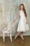 """Платье для девочки """"Хизари""""  Молочное GG-3511"""