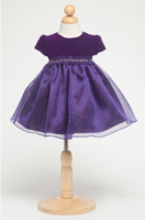 """Платье для новорожденной девочки """"Сильва"""" Фиолетовое B 807"""