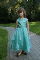 """Нарядное платье для девочки """"Бабочка"""" Бирюзовое 1198"""