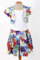 Нарядное платье для девочки Бьянко 0781