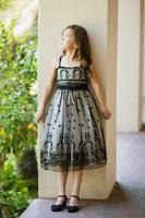 "Платье для девочки ""Кутюр"" Бежевое KD-279"