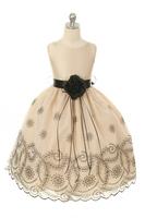 """Детское платье для девочки """"Шампань"""" KD-293"""