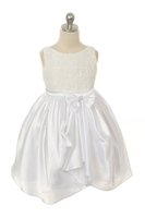 "Платье для девочки ""Розалина"" (Белое) KD-306"