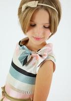 """Нарядное платье для девочки с сумочкой """"Иришка"""" Молочное 1701"""