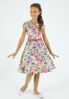 """Нарядное платье для девочки на корсете """"Лолита"""" 6691"""