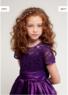 """Детское платье для девочки """"Сардиния"""" Фиолетовое J-1216"""