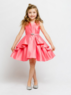 """Детское платье для девочки """"Мари"""" Коралловое J-1239"""