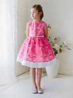 """Платье для девочки """"Принцесса"""" Розовое J1244"""