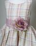Детское платье для девочки Винтажное клетчатое KD-199L