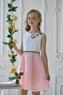 Нарядное платье для девочки Розовое 322