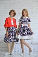 """Нарядное платье для девочки """"Барби"""" 364"""
