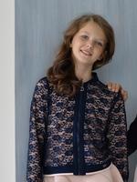 Нарядный комплект для девочки Жакет/Брюки 372/385