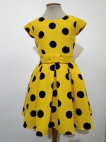 """Платье для девочки """"Пейдж"""" Желтое 2118"""