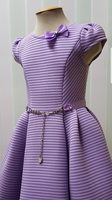 Нарядное платье для девочки Сиреневое 346