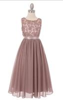 """Нарядное платье для девочки """"Ангел"""" Чайная роза 5006"""