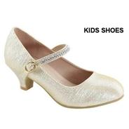 """Нарядные туфли для девочки """"Bella Marie"""" Золотые AA-SASSIE-23K"""