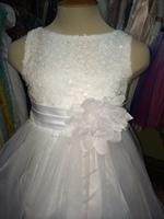 """Платье для девочки """"Карнавал"""" Белый  KD-305"""