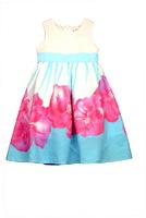 """Платье для девочки из хлопка """"Виола"""" Розовое X14179_05"""